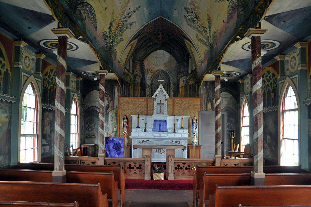 Interior altar view