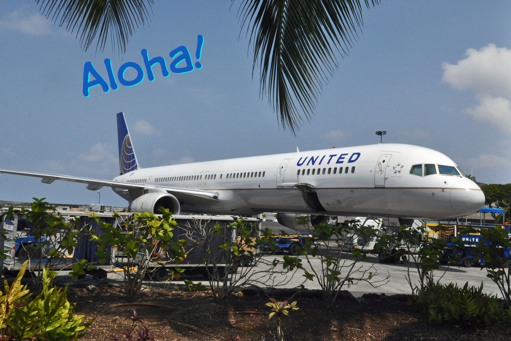 United Airlines in Hawaii