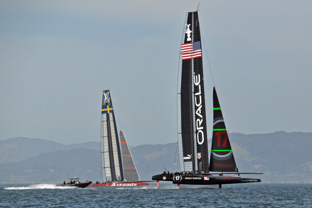 America's Cup catamarans