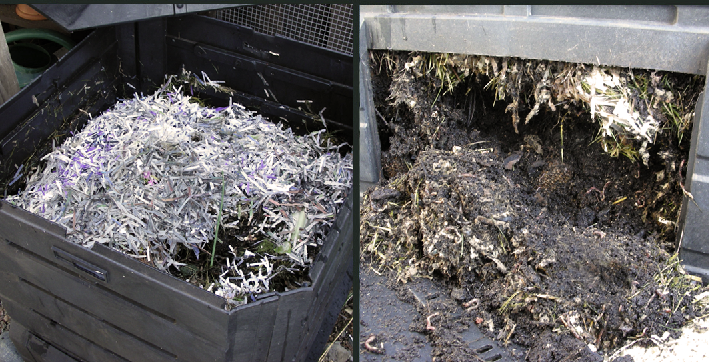 Compost Bin - top & bottom access