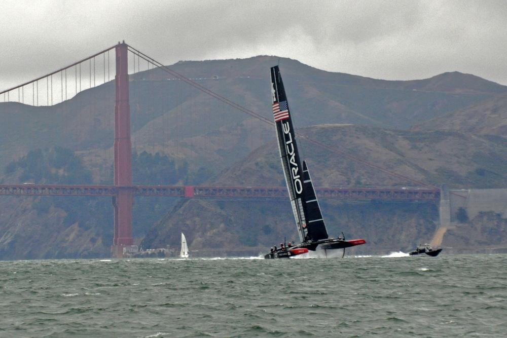 AC72 at Golden Gate