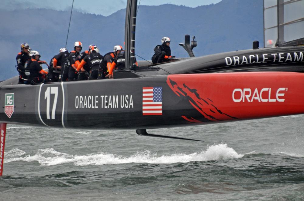 Oracle crew at work