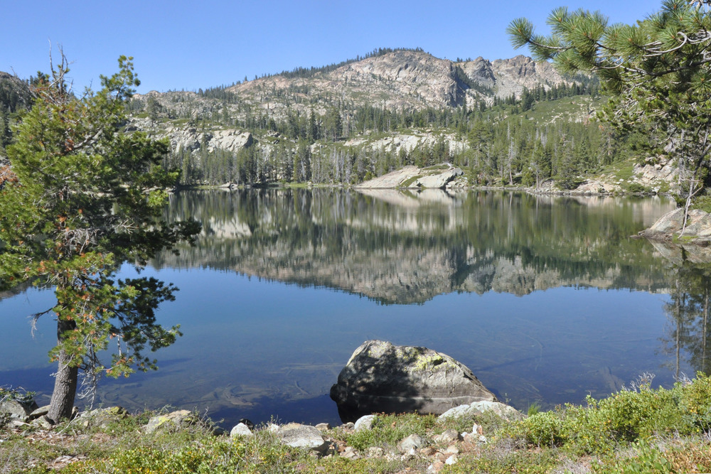 Big Bear Lake elev. 6475'