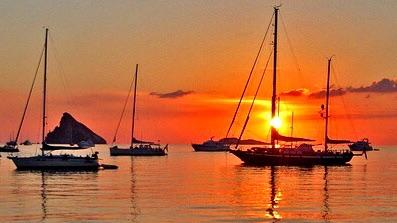 Mediterranian sunset