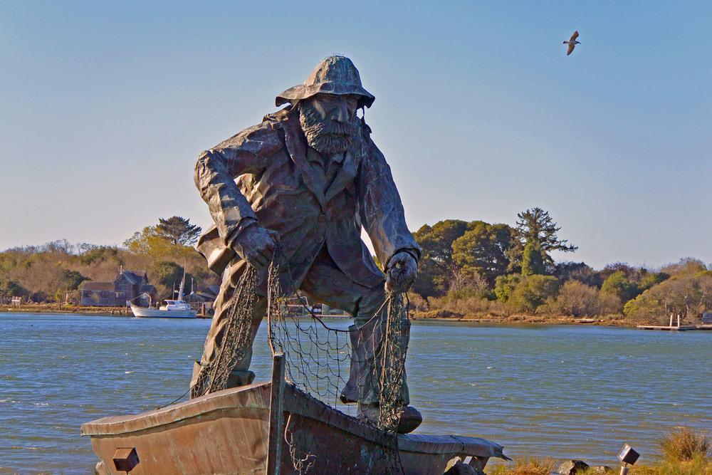 Lost Fisherman memorial