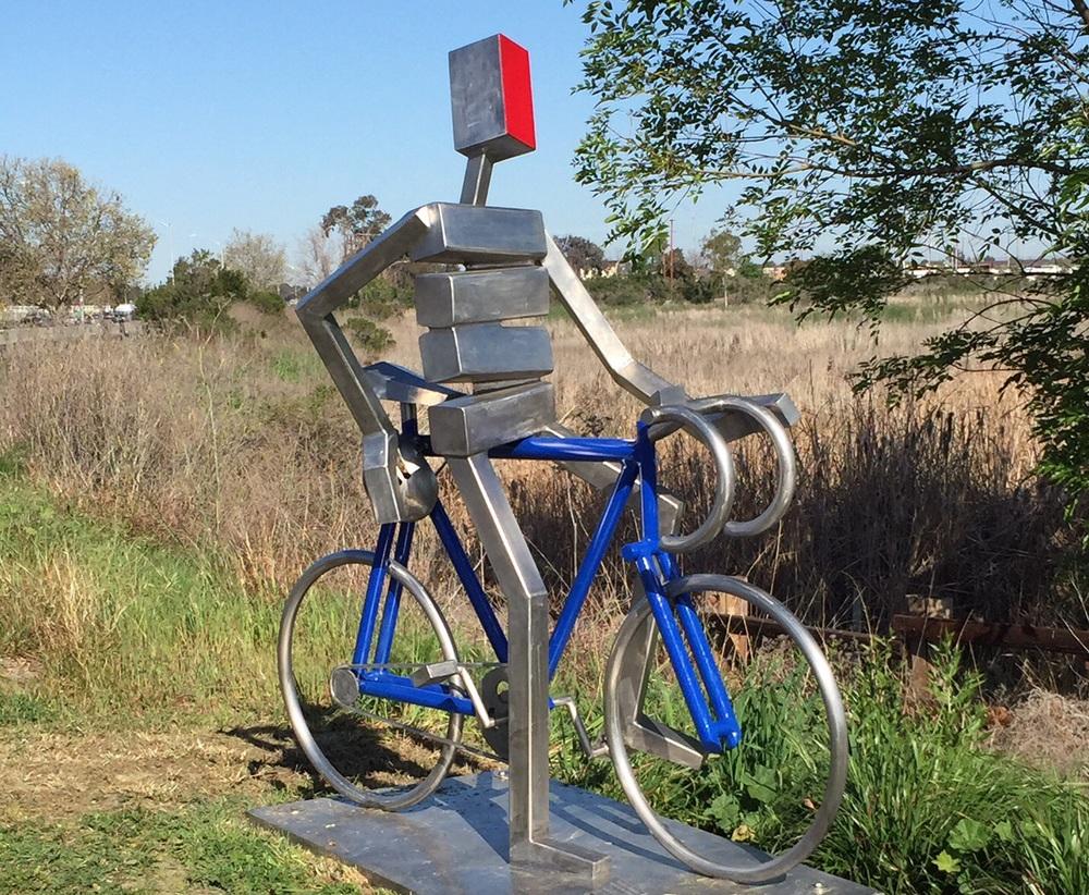 Memorial to bike advocate Bill Blass