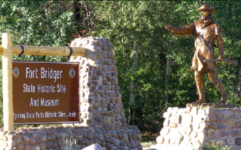Jim Bridger statue