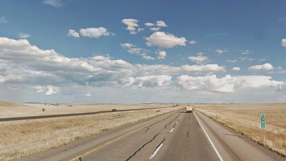 I-80 west of Laramie