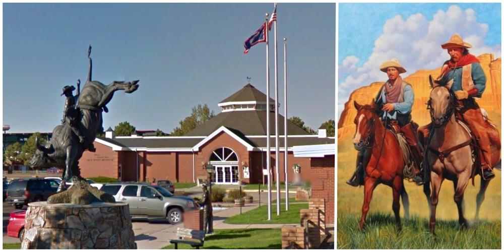 Cheyenne Fronteer Days -- Ride that bull!