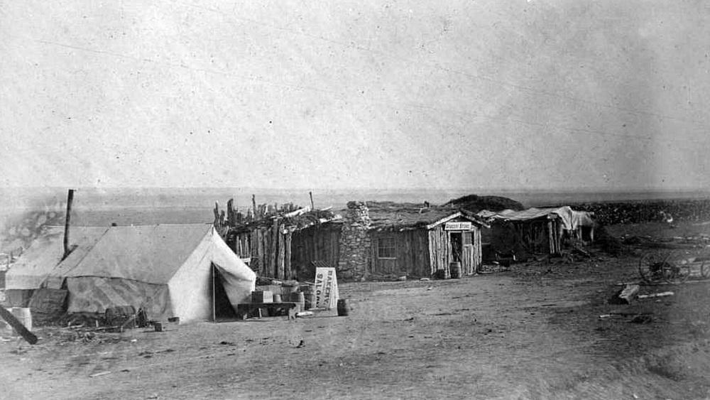 Pine Bluffs 1868 - Wikipedia photo