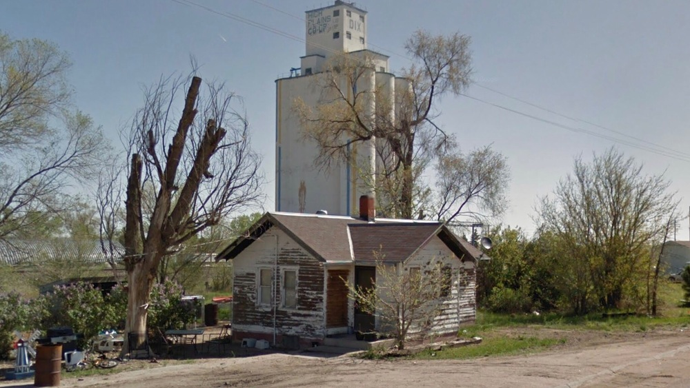 Cottage and Grain Silo