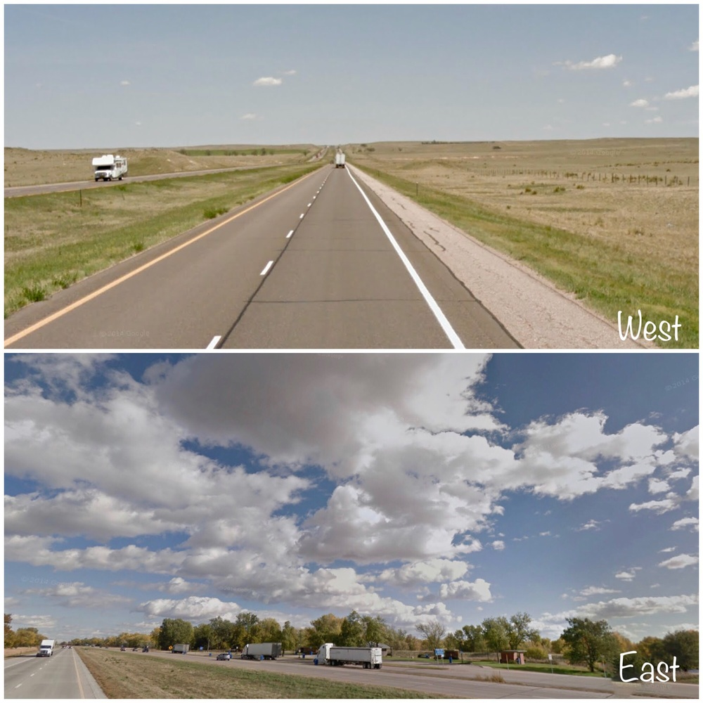 Weather Variations on I-80