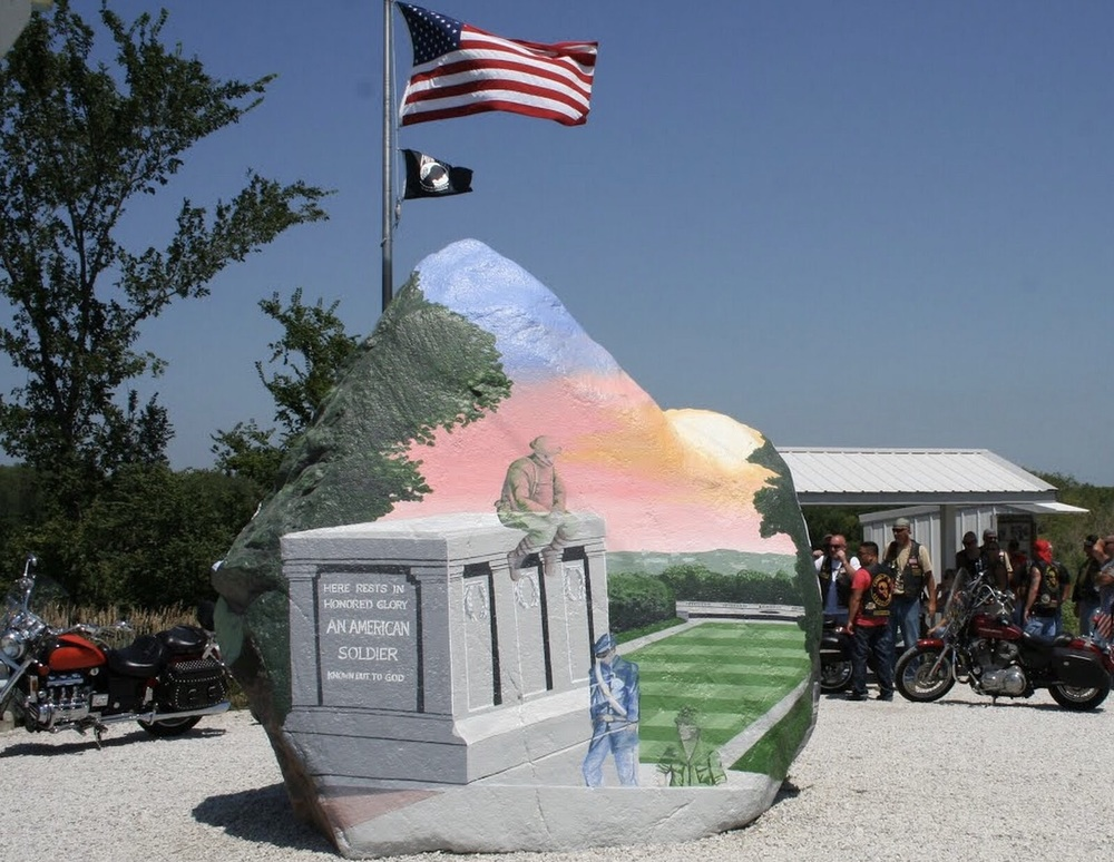 Painted Freedom Rock