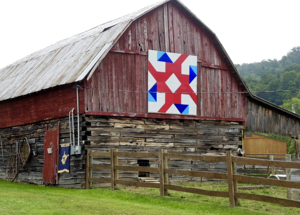 Barn Quilt on display
