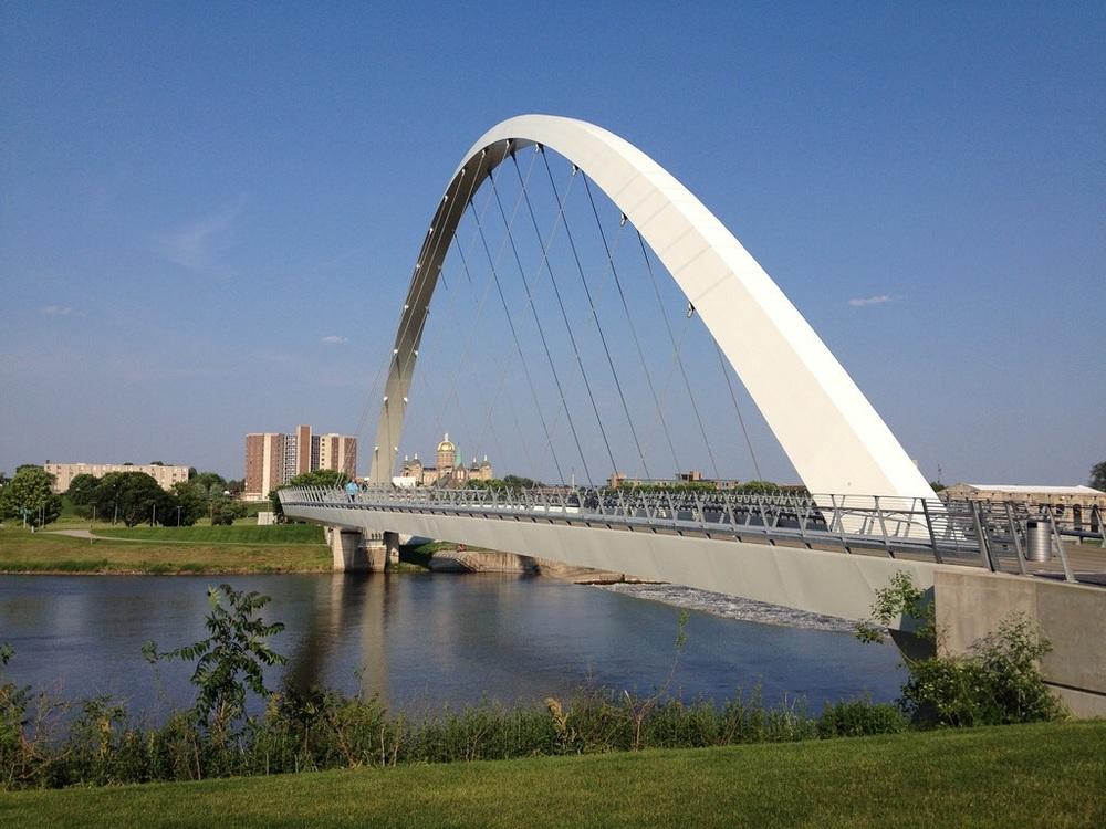 Center Street Bridge - Des Moines River