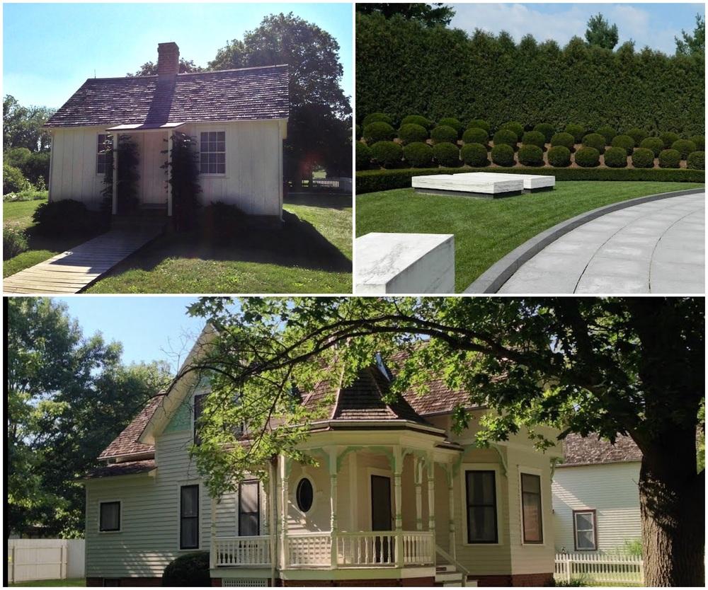 President Hoover's Birthsite, Gravesite, and Childhood community