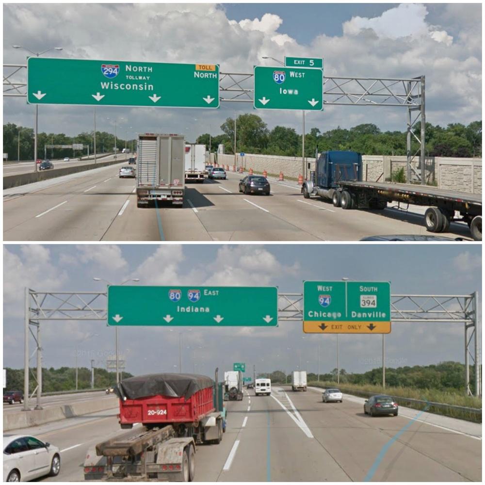 Illinois freeway signs - Next State please