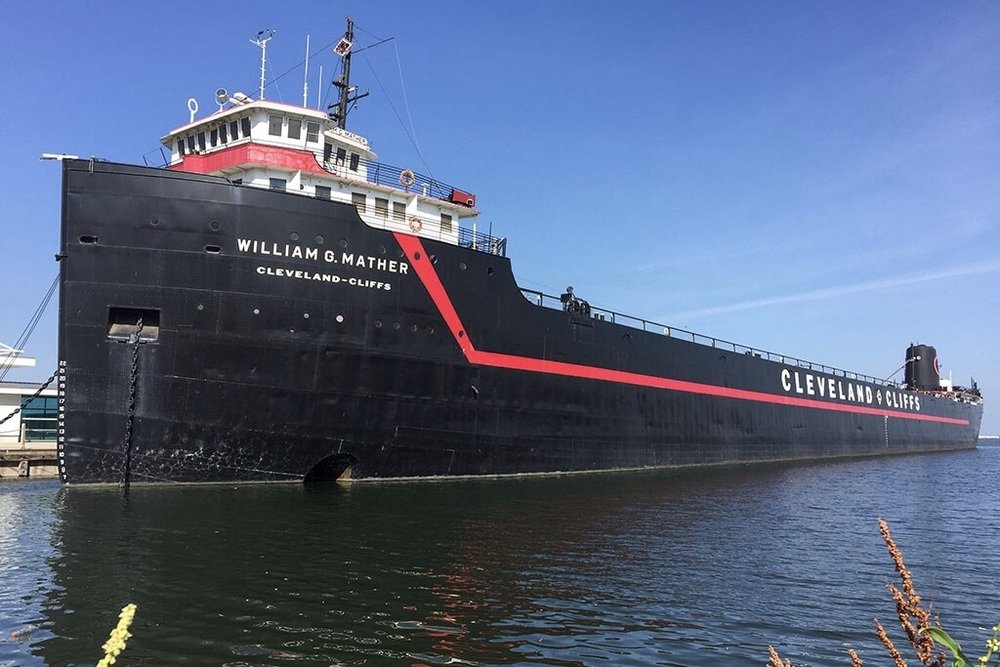 Great Lakes Freighter William Mather