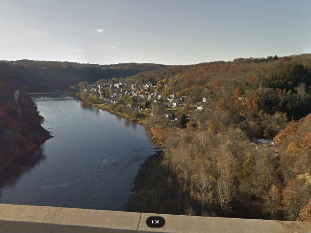 Crossing the Allegheny River