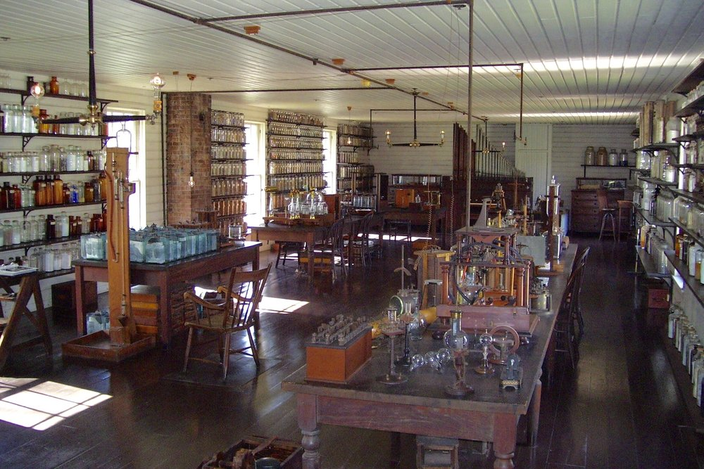 One of Edison's Chemical labs