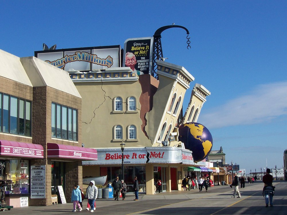 Crazy Attractions on the Boardwalk