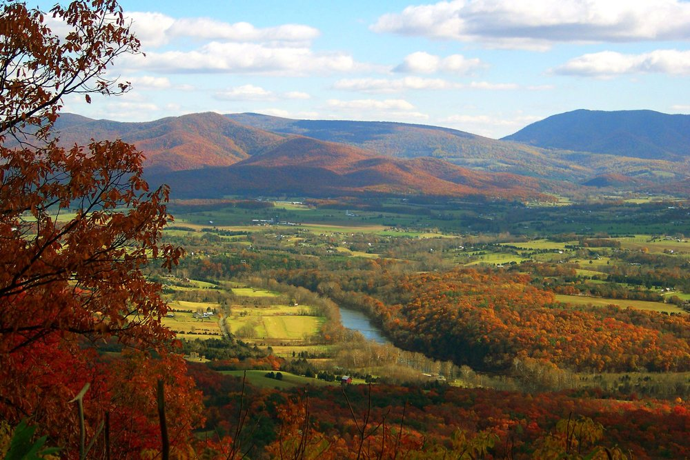 Shenandoah Valley in Fall Splendor