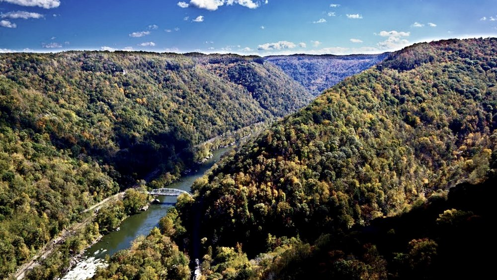 New River and Appalachian Mountains