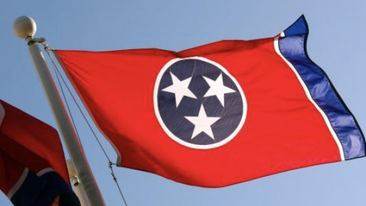 Tri-star Tennessee Flag