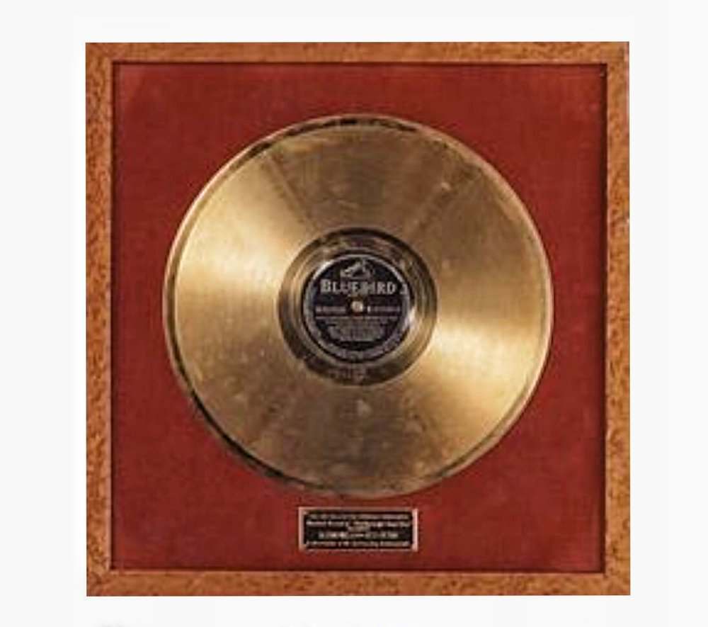 First Gold Record Award