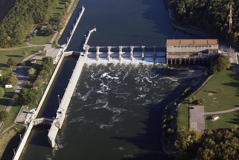 Cumberland River Dam and Locks