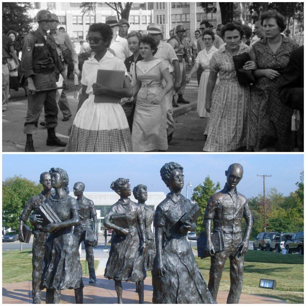 Desegregation becomes a reality