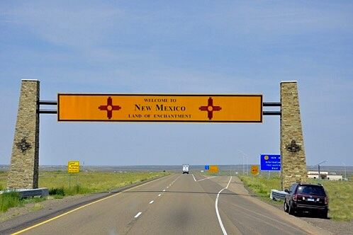 Leaving Texas, Entering Enchantment