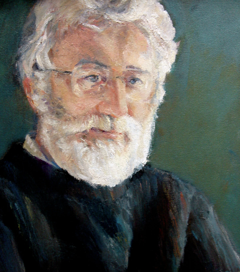 Mr. Campeau, oil painting by Shauna Shane