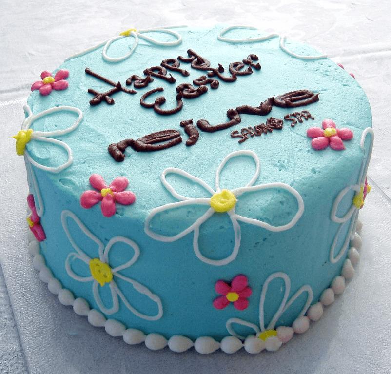 rejuve salon and spa cake