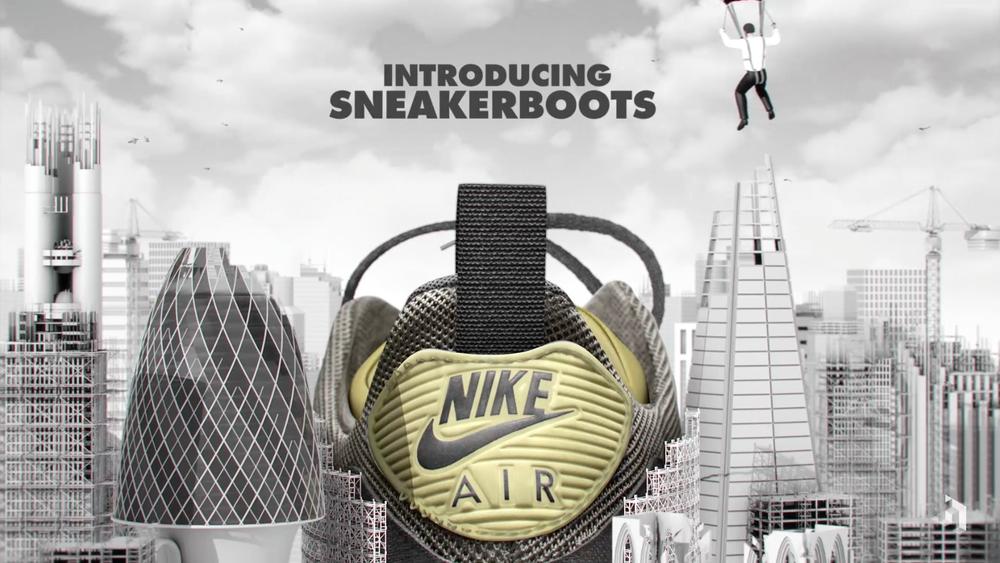 Nike #Sneakerboots