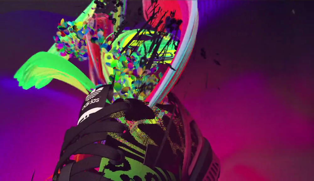 """<span>brand-films, fashion</span>Adidas ZX Flux """"Love Parade""""<strong>U-DOX</strong>"""