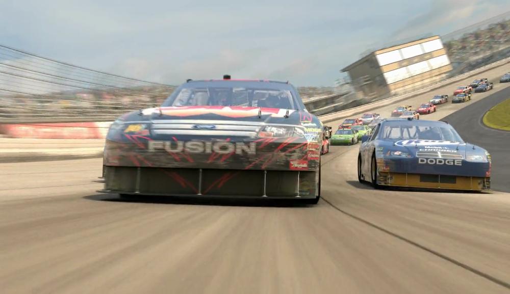 <span>games, automotive</span>NASCAR The Game Cinematic <strong>Eutechnyx | MI</strong>