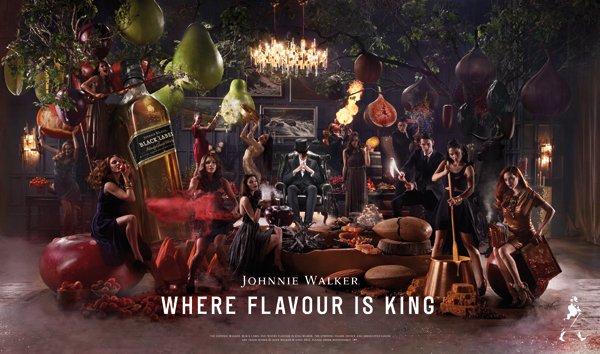 """<span>radio, consumer-brands</span>Johnnie Walker """"Where Flavour Is King""""<strong>LOVE</strong>"""