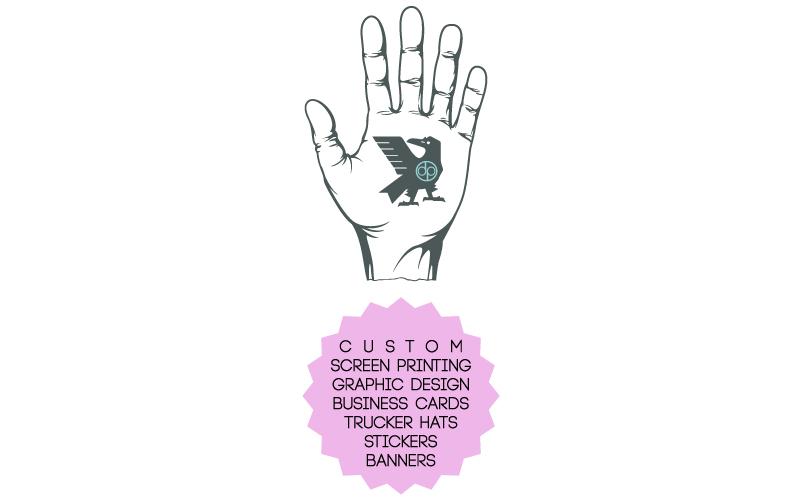 Custom Screen Printing. Trucker Hats. Business Cards. Stickers. Banners. Graphic Design. Kauai, Hawaii. Doxa Print Services.