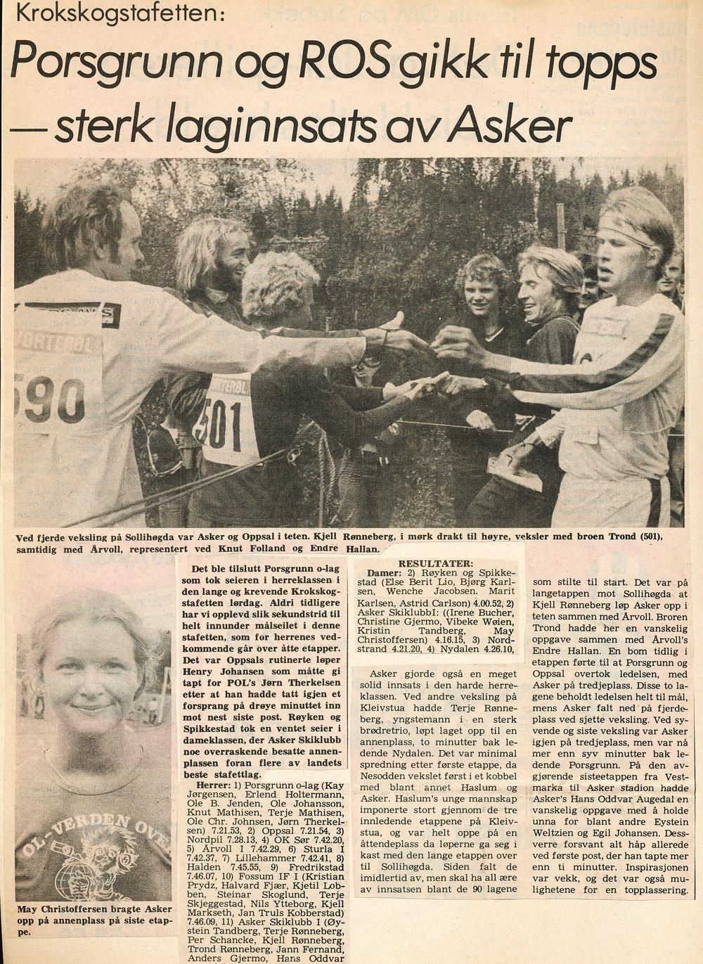 Budstikka 1978
