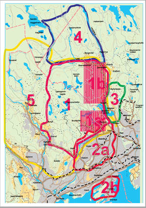 There are high quality maps all around Oslo! You can choose, or use our recommended options.