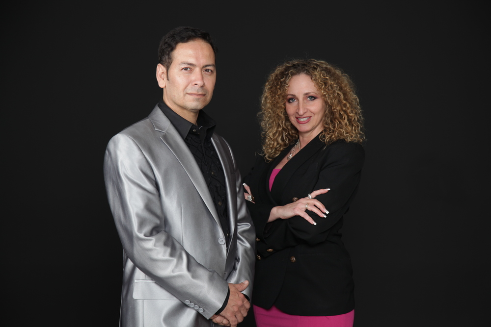 Principals Denise Caiazzo (President, WordWorks) and  Luis G. Prieto (Director/Producer, LuisGPrieto.com)