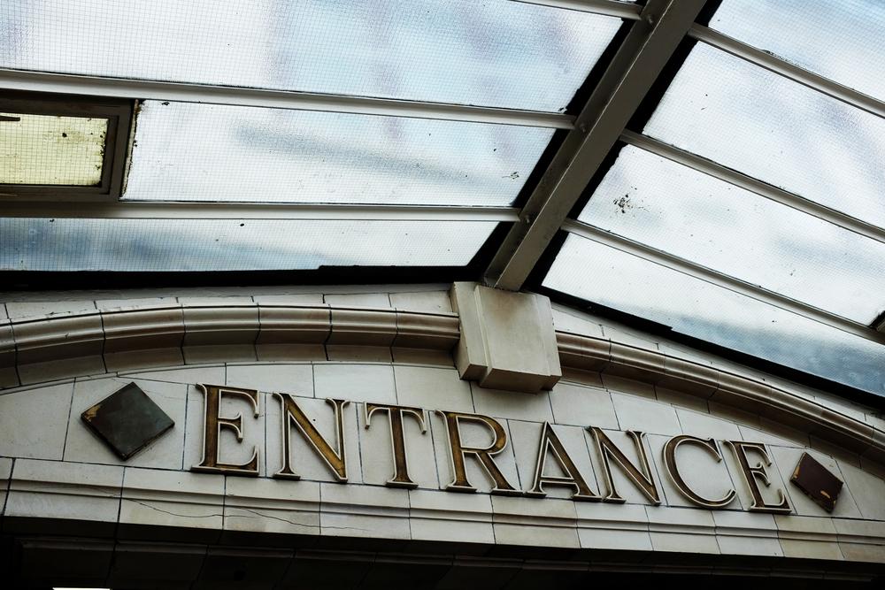Entrance to Farringdon Tube