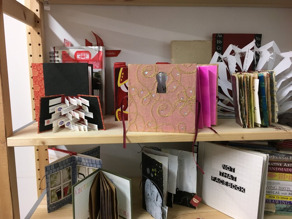 A selection of artist books