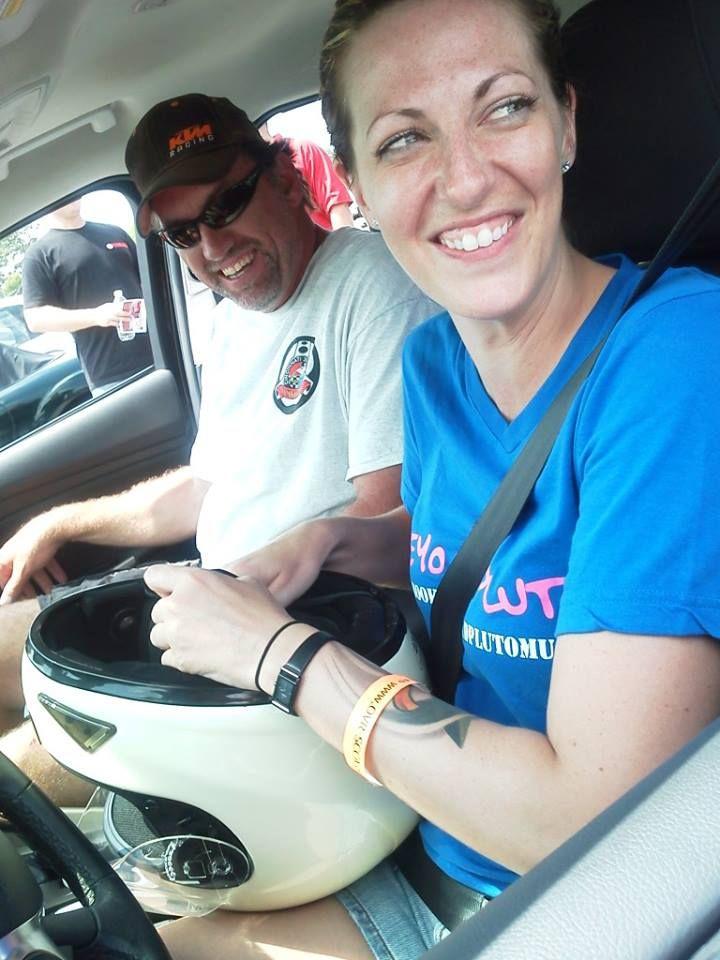 Combat veterans behind the wheel in autocross...