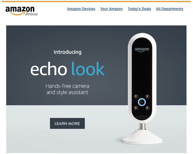 Echo Look Email