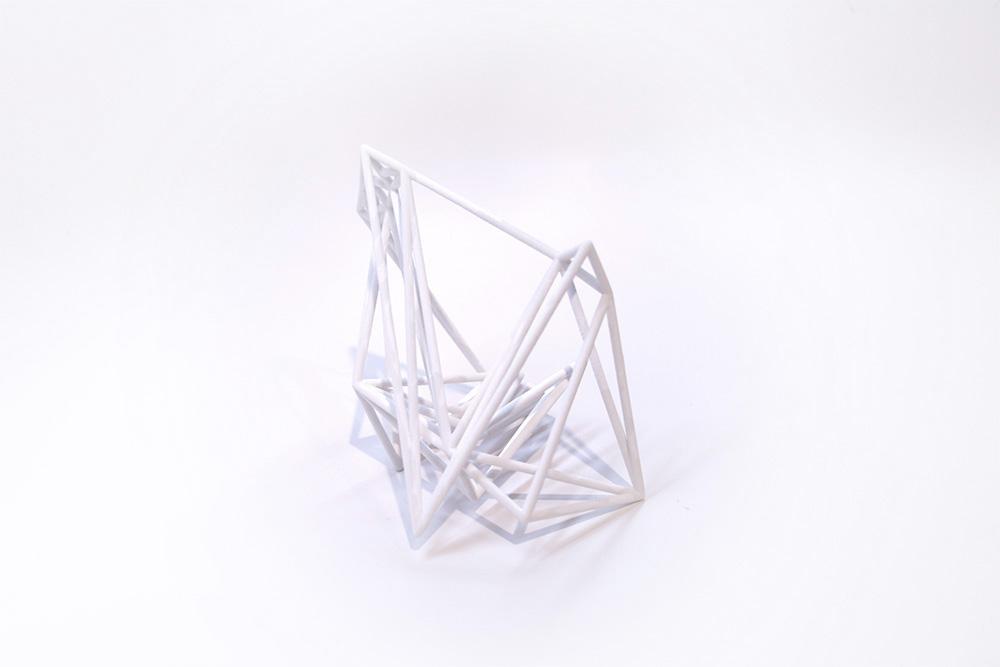 3D delaunay sculpture