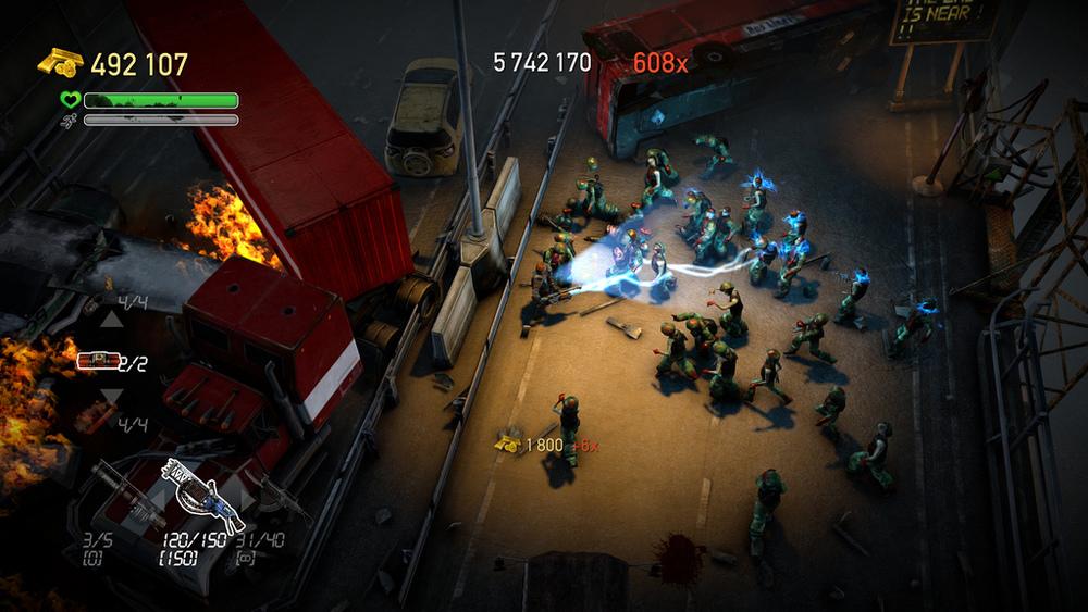 Dead Nation: Apocalypse Edition для PlayStation 4 только получила новый пат