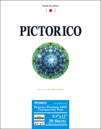 Pictorico OHP:  Buy it here