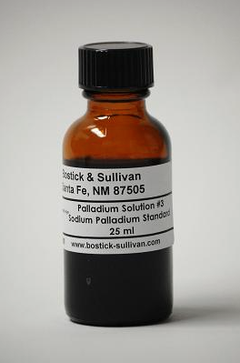 Palladium Solution #3 Standard, 25ml: Buy it here